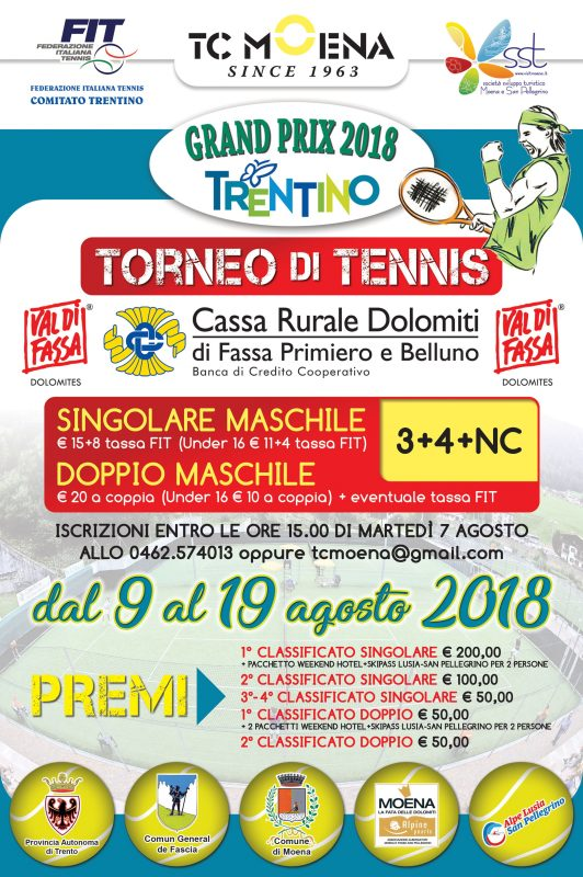 LOCANDINA TORNEO TENNIS MOENA 2018-1