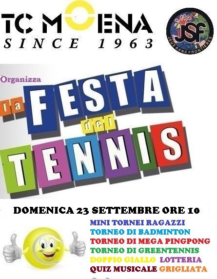 festa tennis